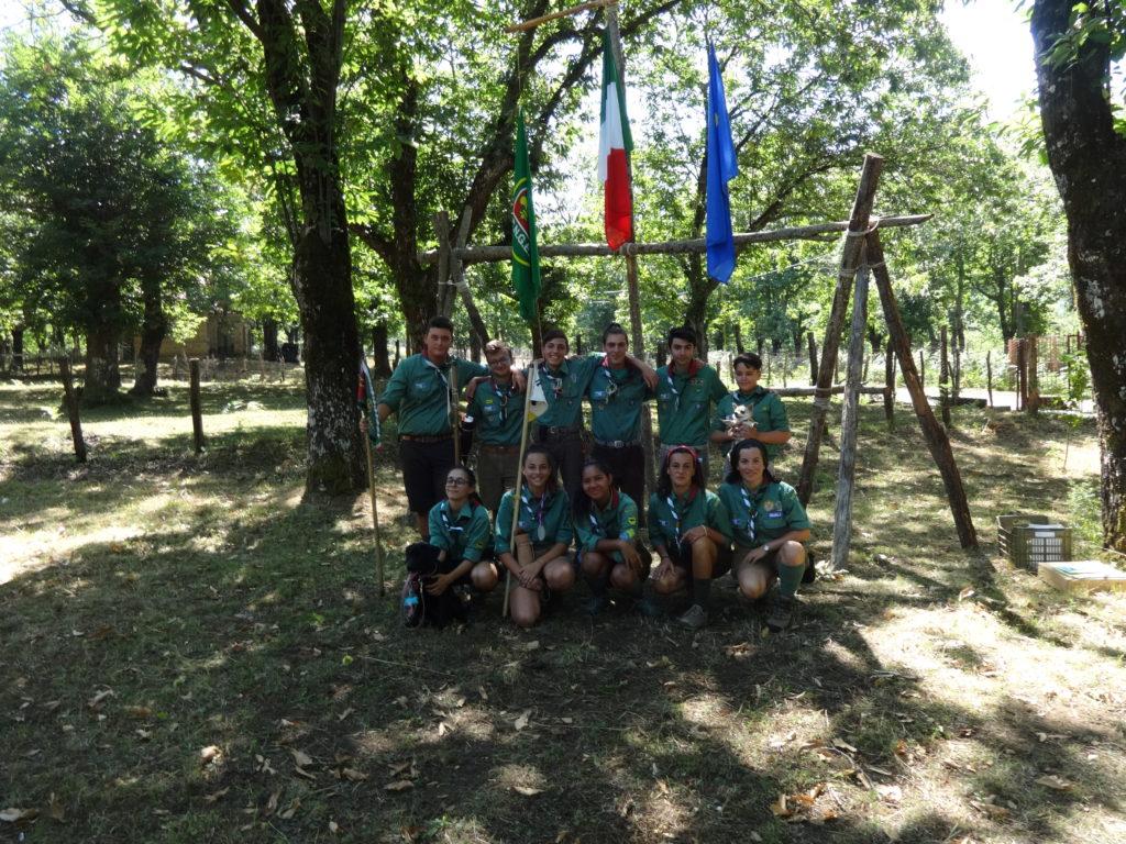 Campo estivo reparto scout cngei cava de 39 tirreni for Idee per gara di cucina scout